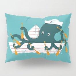 Sailor Octopus Pillow Sham