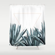 Agave Triangle Shower Curtain