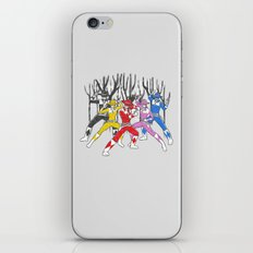 Mighty Morphing Lone Rangers iPhone & iPod Skin