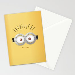 minion dave Stationery Cards