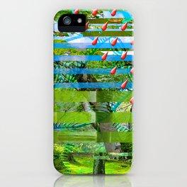 Landscape of My Heart (segment 2) iPhone Case