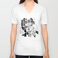 niall V-neck T-shirts featuring Niall Horan  by D77 The DigArtisT