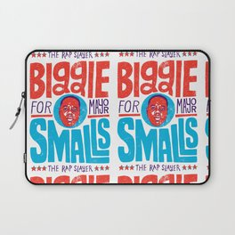 Biggie Smalls for Mayor Laptop Sleeve
