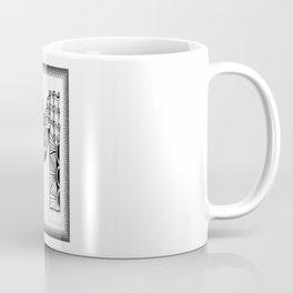 Zentangle M Monogram Alphabet Initials Coffee Mug