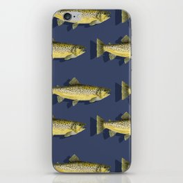 Brown Trout iPhone Skin