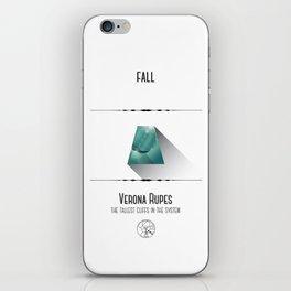 Travel Uranus iPhone Skin