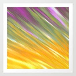 Golden Aurora Art Print