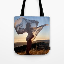 The Dawning of a New Life Tote Bag
