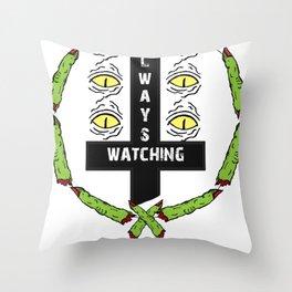 SEVERED WATCH Throw Pillow
