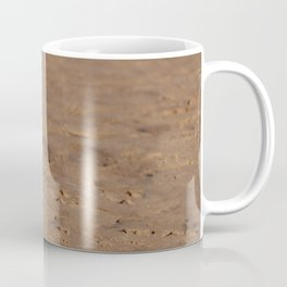 Seagull in a windy day with ruffled feathers Coffee Mug