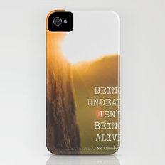 ee cummings - sunset. iPhone (4, 4s) Slim Case