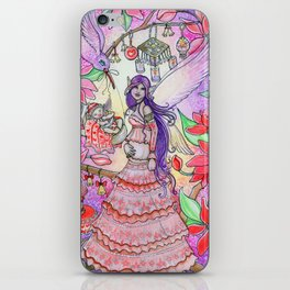 Pregnant Fairy and Baby - Maternal - Wings of the night iPhone Skin