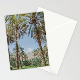 Date Palm Trees in Oman #3 Stationery Cards