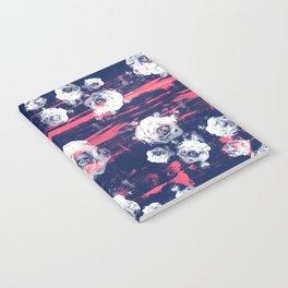Roses & Skulls Notebook