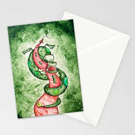 The Dragon and The Tower Stationery Cards