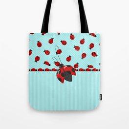 Sweet Ladybugs Tote Bag