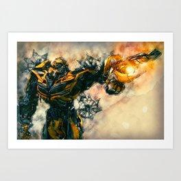 Bumblebee, Transformers Poster Art Art Print
