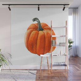 pumpkin Wall Mural