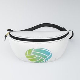 Watercolor Pattern Volleyball Player Gift  Fanny Pack
