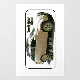 Muddy Zook Suzuki Grand Vitara Art Print