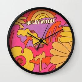 Hollywood Rainbow Garden Wall Clock