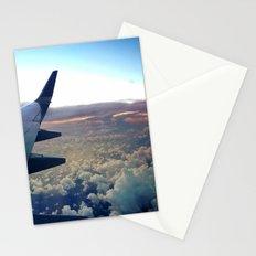 airplane window Stationery Cards