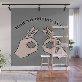 How To Motorcycle Wall Mural