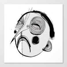 'Face III' Canvas Print