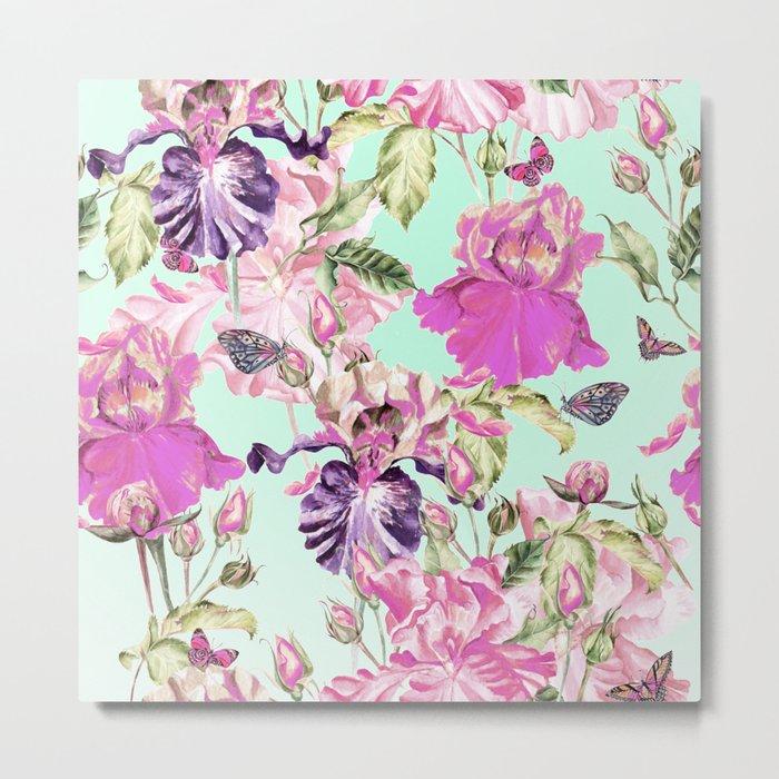 Wild wildflowers Metal Print