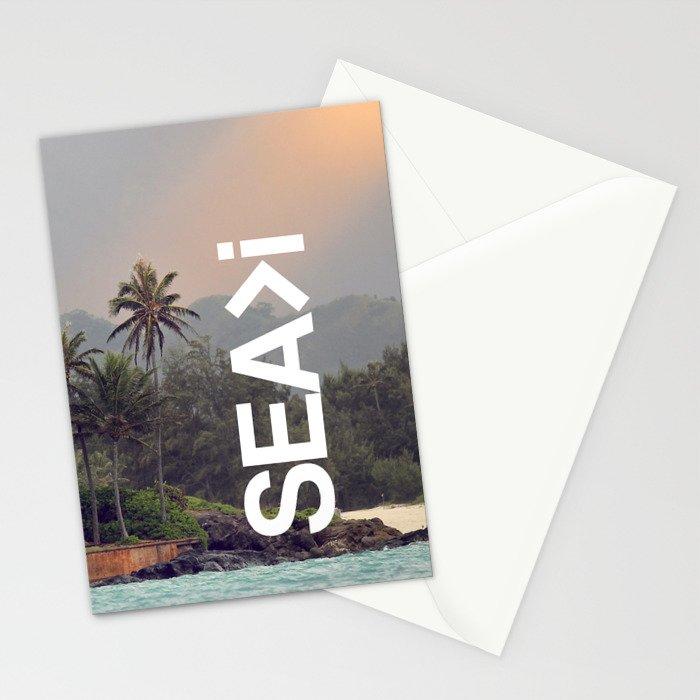 SEA>i  |  Back to Lanikai Stationery Cards