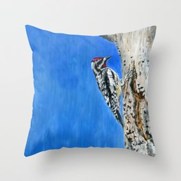 The Nectar Collector by Teresa Thompson Throw Pillow