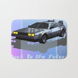 Back to the Future Bath Mat