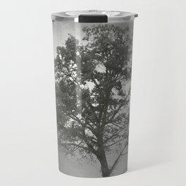 Gray Mist Cotton Field Tree - Landscape Travel Mug