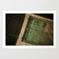Signage Art Print