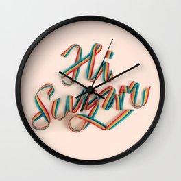 HI SUGAR Wall Clock