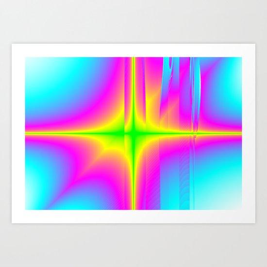 fractions Art Print