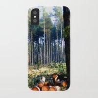 woods iPhone & iPod Cases featuring Woods by madbiffymorghulis
