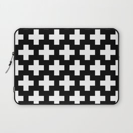 Swiss Cross W&B Laptop Sleeve