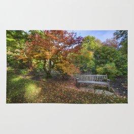 Autumn Bench  Rug