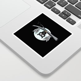 Cute Owl With Friends Sticker