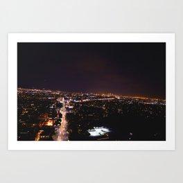 Pico Ave. Art Print