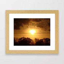 Easter Sunset '10 Framed Art Print