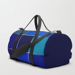 Cobalt , patchwork Duffle Bag