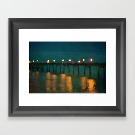 Deal After Sunset 2 Framed Art Print
