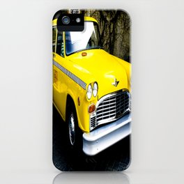 Yellow Cab (1) iPhone Case