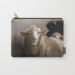 Cute Smiling Sheep Photo Carry-All Pouch