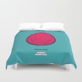 Pink Egg Duvet Cover