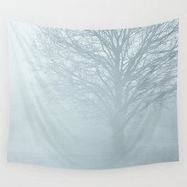 Tree / Winter Silence Wall Tapestry