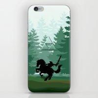 the legend of zelda iPhone & iPod Skins featuring Legend Of Zelda by Kesen