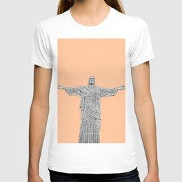 Christ Redeemer Rio de Janeiro - Art T-shirt